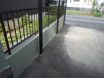 浜松市南区遠州浜施工事例外壁塗装の事なら浜松塗装専門店|加藤塗装外構塀塗装門塀和色