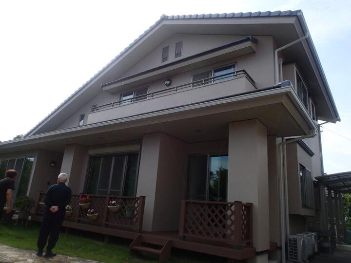 浜松市北区三ケ日町Iさま外壁塗装完成しました。外壁塗装の事なら浜松塗装専門店|加藤塗装