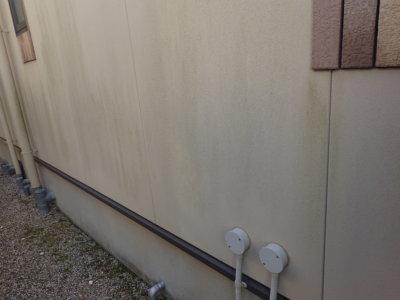 外壁の汚れ藻コケ微生物外壁塗装の事なら浜松塗装専門店 加藤塗装