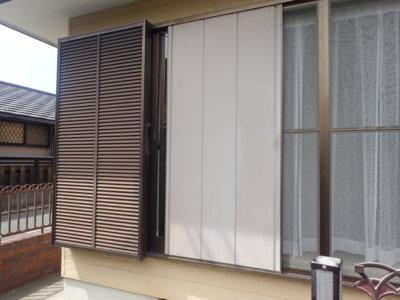 外壁塗装の事なら浜松塗装専門店|加藤塗装 雨戸戸袋のみ