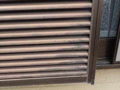 外壁塗装の事なら浜松塗装専門店|加藤塗装 雨戸戸袋のみ経年劣化