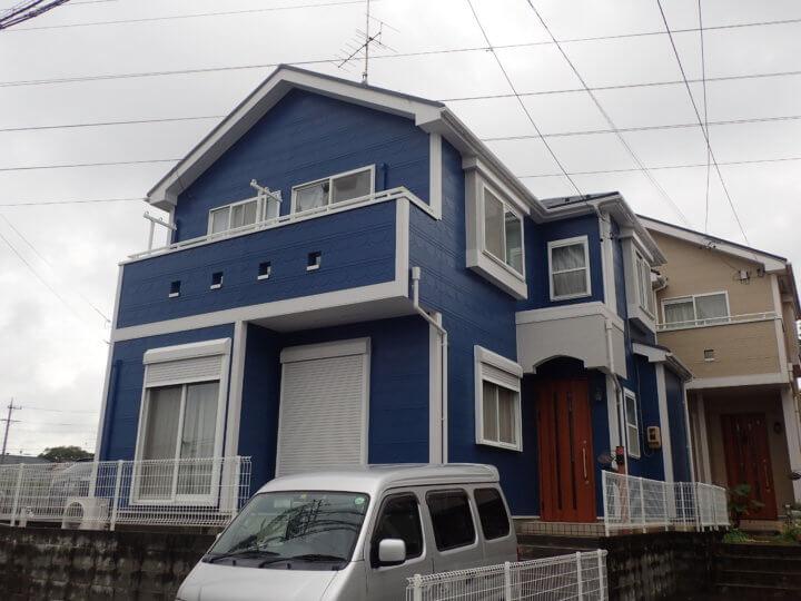 浜松市中区上島Wさま屋根・外壁塗装完成しました。外壁塗装の事なら浜松塗装専門店|加藤塗装