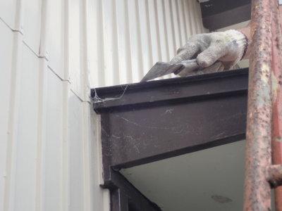 南区東町一戸建て住宅 外壁塗装の事なら浜松塗装専門店|加藤塗装ケレン作業トタン