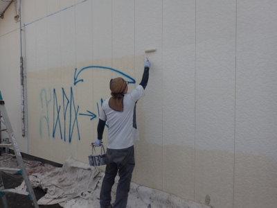 外壁落書き部分消し外壁塗装の事なら浜松塗装専門店|加藤塗装対策防犯カメラ