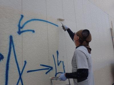 外壁落書き部分消し外壁塗装の事なら浜松塗装専門店|加藤塗装対策防犯カメラ迷惑防止法塗料