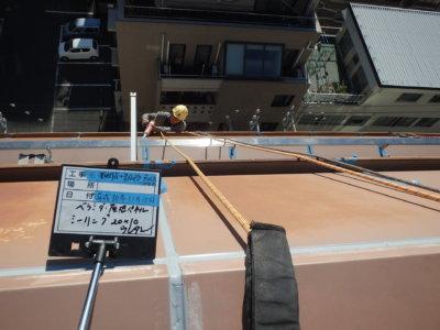 ロープアクセス 外壁タイル補修工事 外壁塗装の事なら浜松塗装専門店 加藤塗装東横インホテルパネルシーリング改修工事高層ビル