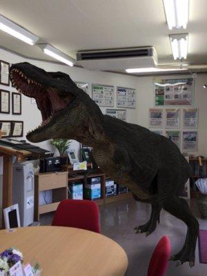 image0trex恐竜AR 浜松駅南ショールーム 外壁塗装の事なら浜松塗装専門店|加藤塗装