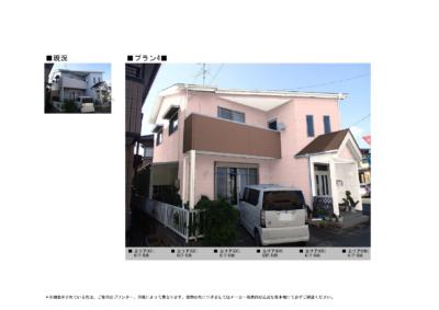 4材質によって色分けするベランダと外壁の素材が違う外壁塗装の事なら浜松塗装専門店|加藤塗装カラープラン