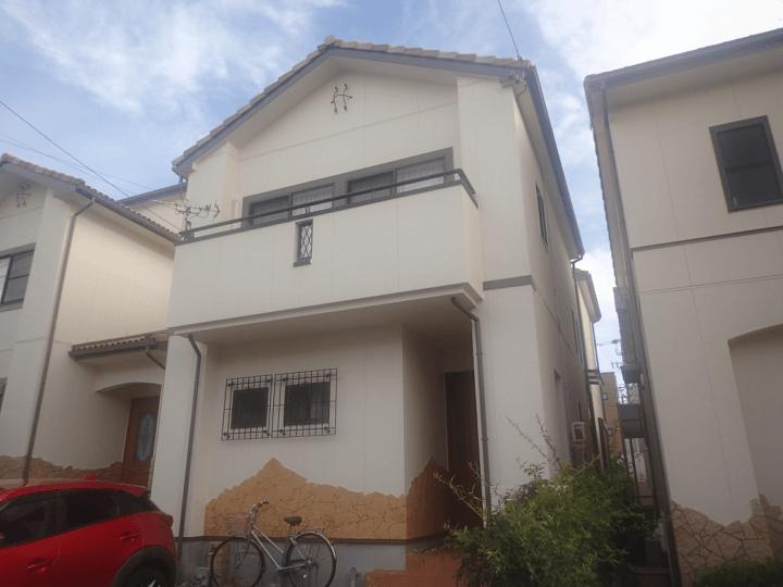 浜松市中区広沢町Sさま外壁塗装完成しました。外壁塗装の事なら浜松塗装専門店|加藤塗装
