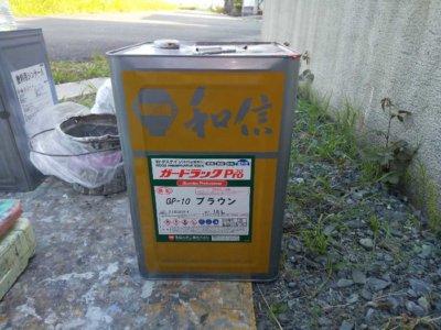 gl-proカーポート木部塗装浜松市外壁塗装の事なら浜松塗装専門店|加藤塗装ガードラックプロ色塗り方ブラウン耐久年数