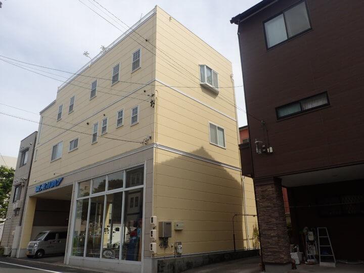 浜松市中区中央Oさま外壁塗装完成しました。外壁塗装の事なら浜松塗装専門店|加藤塗装