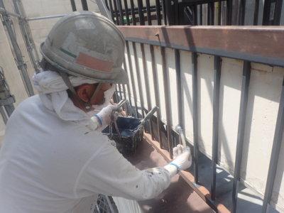 令和8月お盆帰省外壁塗装の事なら浜松塗装専門店|加藤塗装ベランダ鉄部手摺