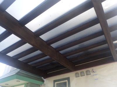 gl-proカーポート木部塗装浜松市外壁塗装の事なら浜松塗装専門店|加藤塗装ガードラックプロ色塗り方