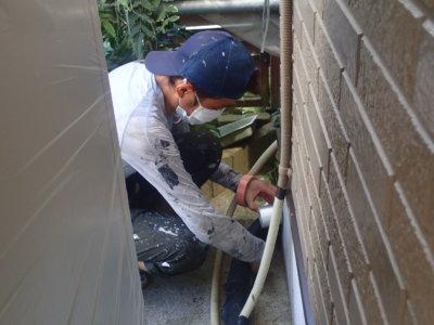 猛暑 熱中症 足場架設 外壁塗装の事なら浜松塗装専門店|加藤塗装