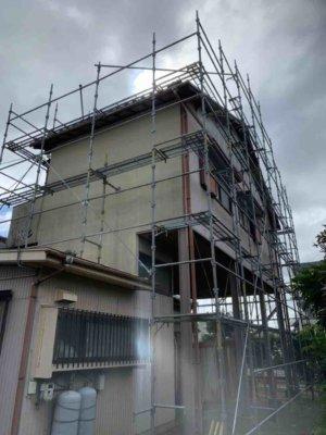 瓦修繕補修欠損台風外壁塗装の事なら浜松塗装専門店|加藤塗装足場架設和風住宅