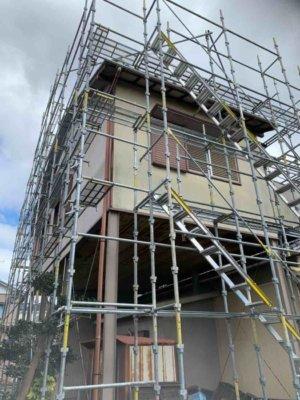 瓦修繕補修欠損台風外壁塗装の事なら浜松塗装専門店|加藤塗装足場架設和風住宅YouTube