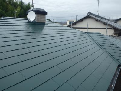 屋根色 考え方外壁塗装の事なら浜松塗装専門店|加藤塗装カラーベストスーパーシャネツサーモ