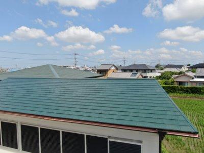 レイバーグリーン屋根色 考え方外壁塗装の事なら浜松塗装専門店|加藤塗装カラーベストスーパーシャネツサーモシリコンフッ素