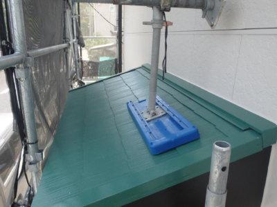 屋根色 考え方外壁塗装の事なら浜松塗装専門店|加藤塗装カラーベストスーパーシャネツサーモシリコンフッ素遮熱ヤネフレッシュフォレストグリーン