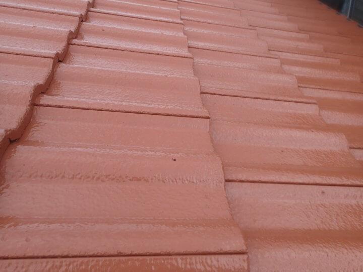 屋根塗装完成