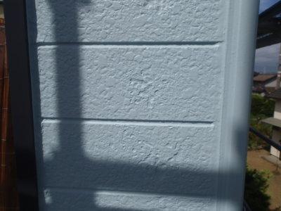 tomakuhakuri外壁塗膜剥離 外壁塗装の事なら浜松塗装専門店|加藤塗装 西区篠原町 劣化症状 施工後凹凸が残る