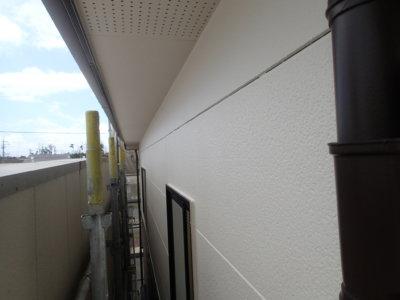 浜松市南区遠州浜Mさま外壁塗装完成しました施工前令和二年8月地域密着創業98年セミフロンスーパールーフⅡセラミタウンマイルドセラタイトF