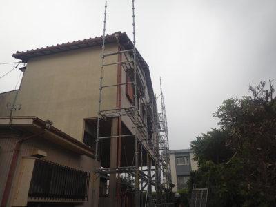 瓦修繕補修欠損台風外壁塗装の事なら浜松塗装専門店|加藤塗装足場架設
