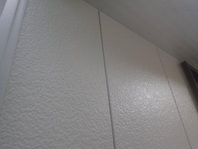遠州浜平屋一戸建て住宅外壁塗装加藤塗装窓の格子取り付けトタン金蔵サイディング