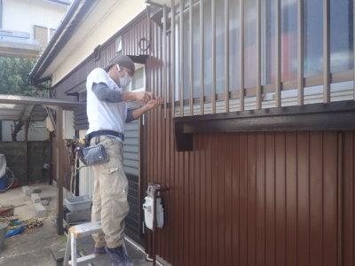 遠州浜平屋一戸建て住宅外壁塗装加藤塗装