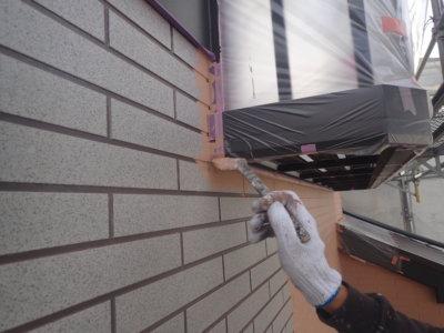 アステックpaint スーパーシャネツサーモ フッ素 カラー品番 外壁塗装の事なら浜松塗装専門店 加藤塗装 下塗り塗装 口コミ 評判 足場架設 レンガ調サイディング塗り残し目地 塗り方 職人