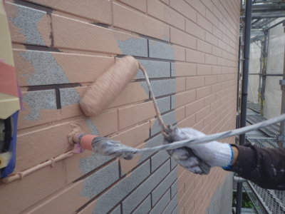 アステックpaint スーパーシャネツサーモ フッ素 カラー品番 外壁塗装の事なら浜松塗装専門店 加藤塗装 下塗り塗装 口コミ 評判 足場架設 レンガ調サイディング塗り残し目地 塗り方