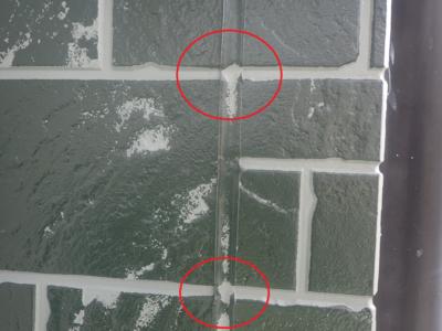 ダブルトーン仕上げ 外壁塗装の事なら浜松塗装専門店 石材調サイディング 令和2年10月 職人技術