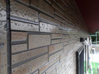施工事例 外壁塗装の事なら浜松塗装専門店|加藤塗装 令和2年 北区引佐町井伊谷 セミフロンスーパーシリーズ クリヤー塗料 クリアー 軒天赤 三部艶