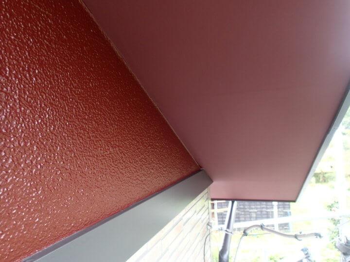 軒天塗装完成