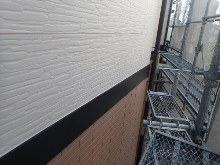 帯板塗装完成