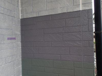 トライペイント試し塗り外壁塗装の事なら浜松塗装専門店|加藤塗装 日本塗装工業会色見本 石材調サイディング