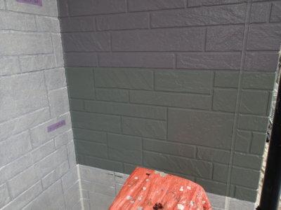 トライペイント試し塗り外壁塗装の事なら浜松塗装専門店|加藤塗装 日本塗装工業会色見本 石材調サイディング レンガ調サイディング