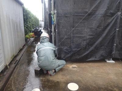 台風14号接近 外壁塗装の事なら浜松塗装専門店|加藤塗装 メッシュシート