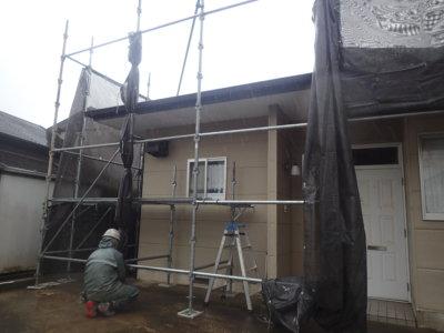台風14号接近 外壁塗装の事なら浜松塗装専門店|加藤塗装 メッシュシート 足場 強風  対策 大丈夫 倒壊 危険