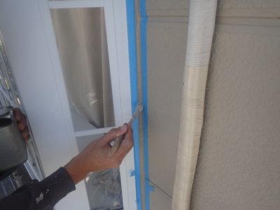 アパートマンション塗装 外壁塗装の事なら浜松塗装専門店|加藤塗装 頭陀寺町 シーリング改修 増し打ち 溶剤と水性塗料