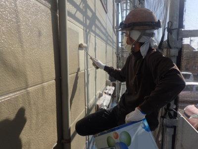 アパートマンション塗装 軒天 外壁塗装の事なら浜松塗装専門店|加藤塗装 竜禅寺町中塗りカラーシミュレーション
