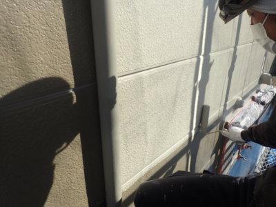 アパートマンション塗装 軒天 外壁塗装の事なら浜松塗装専門店|加藤塗装 竜禅寺町中塗りカラーシミュレーション サイディング劣化