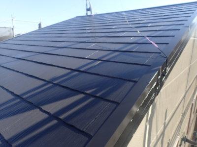 アパート屋根塗装カラーベスト スレート 外壁塗装の事なら浜松塗装専門店|加藤塗装