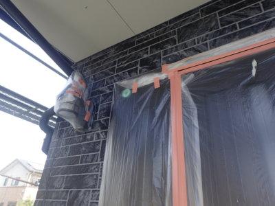 ダブルトーン仕上げ工法 外壁塗装の事なら浜松塗装専門店 加藤塗装 中郡町 お洒落