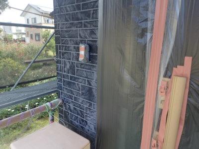 ダブルトーン仕上げ工法 外壁塗装の事なら浜松塗装専門店 加藤塗装 中郡町 お洒落 レンガ調