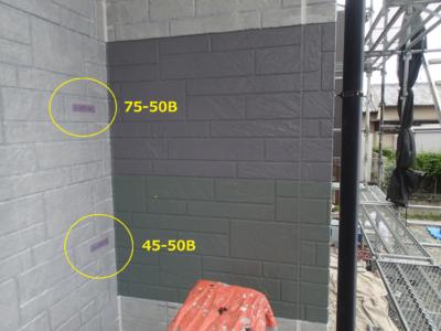 トライペイント試し塗り外壁塗装の事なら浜松塗装専門店|加藤塗装 日本塗装工業会色見本
