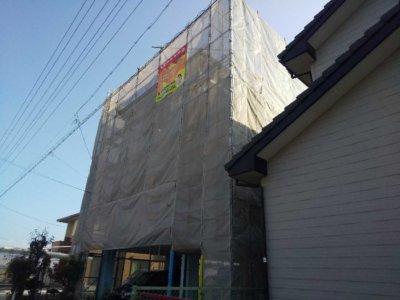 3階建て住宅 外壁塗装の事なら浜松塗装専門店|加藤塗装