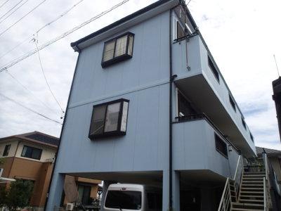 3階建て住宅 外壁塗装の事なら浜松塗装専門店|加藤塗装 費用 料金