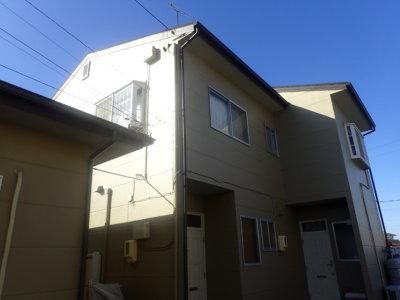 浜松市南区頭陀寺町Kさまアパート塗装完成しました。外壁塗装の事なら浜松塗装専門店|加藤塗装