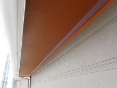 浜松市東区小池町屋根外壁塗装工事 外壁塗装の事なら浜松塗装専門店|加藤塗装 緑色の屋根 軒天オレンジ